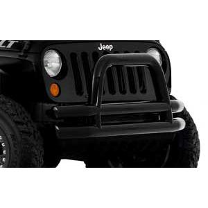 Front Bumpers Gloss Black Tube Bumper Accessories