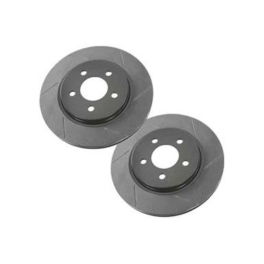 Brakes 2005-2014 Mustang Rotor Brake Kit, Rear Slotted Accessories