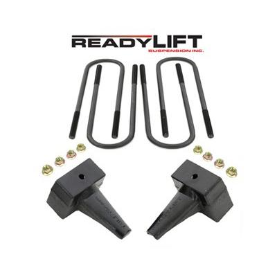 Suspension Ford F-250, F-350, F-450 Super Duty 4 in. Rear Block Kit - for 2-piece drive shaft Accessories