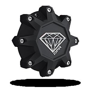 Center Caps DPR Replacement Cap 8 Lug - Diamond Logo Accessories