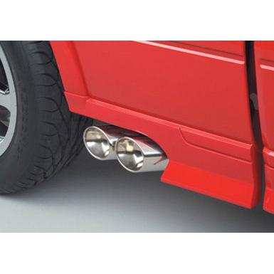 Exhaust Exhaust Dual Side Exit Off-Road 2004-2008 Ford F150 Accessories
