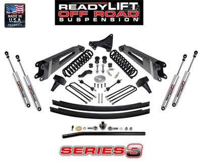 Suspension Ford Super Duty 5 in. Lift Kit - Series 3 - 2005-2007 - 49-2008 Accessories