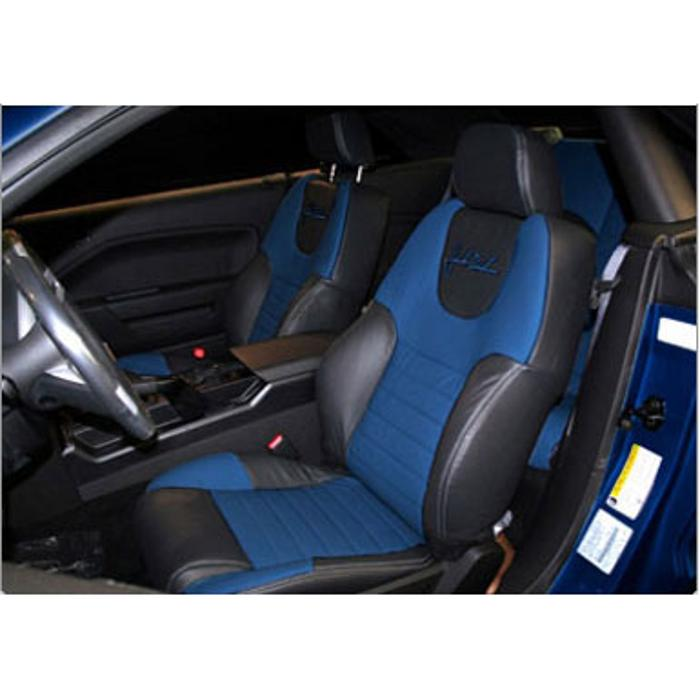 2005-2007 Mustang Leather Seats, Coupe w/o Side Airbags