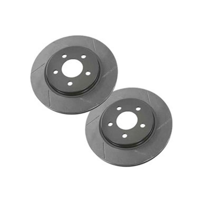 2005-2014 Mustang Rotor Brake Kit, Rear Slotted