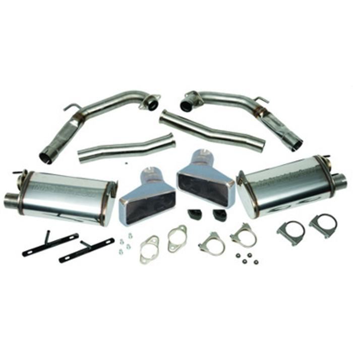 1999-2000 Mustang GT Side Exhaust