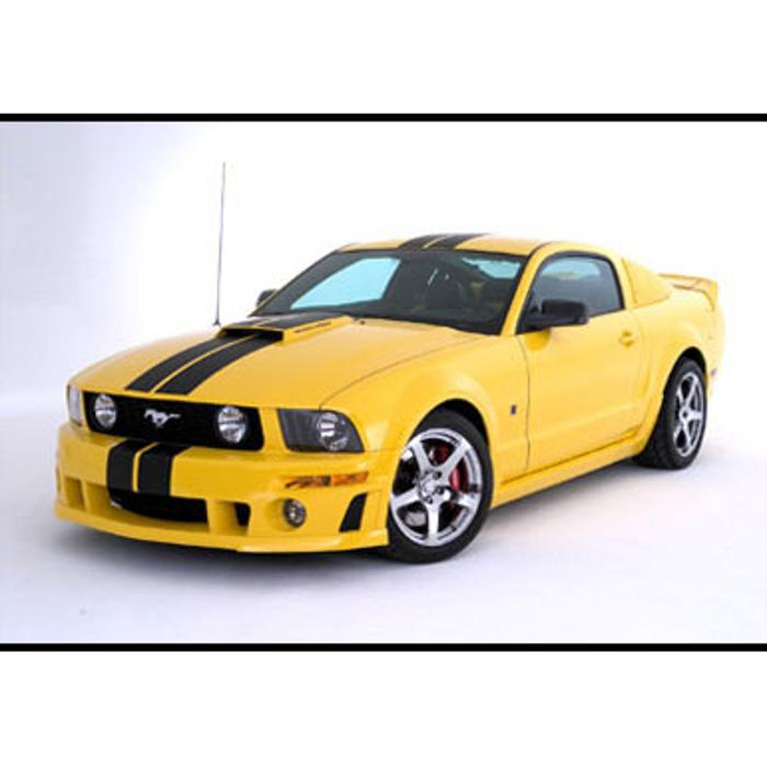 2005-2009 Mustang Racing Stripes, Coupe Kit w/ROUSH Body Kit
