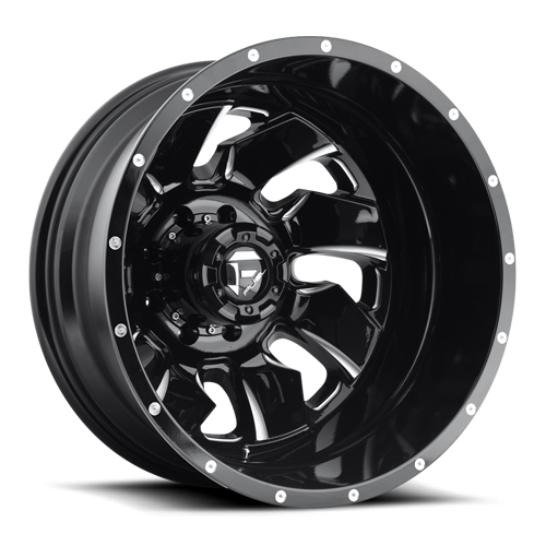 8 LUG CLEAVER DUALLY REAR - D574