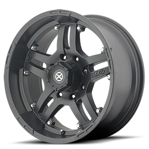 AX181 Artillery Cast Iron Black 8 lug