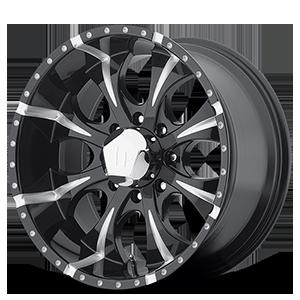 Helo Wheels HE791 MAXX 8 Gloss Black Milled