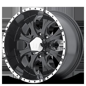 Helo Wheels HE791 MAXX 8 Gloss Black Machined