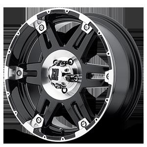 XD Wheels XD797 Spy 5 Gloss Black Machined