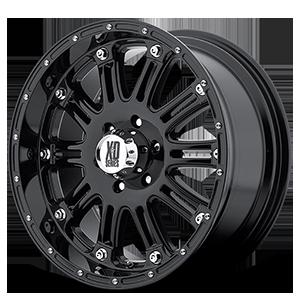 XD Wheels XD795 Hoss 6 Gloss Black w/ Clear Coat