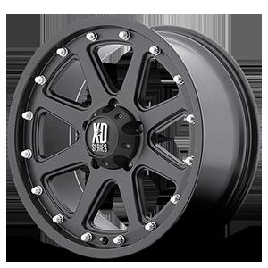 XD Wheels XD798 Addict 5 Matte Black