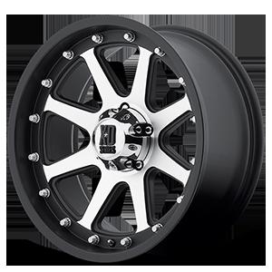 XD Wheels XD798 Addict 5 Matte Black Machined