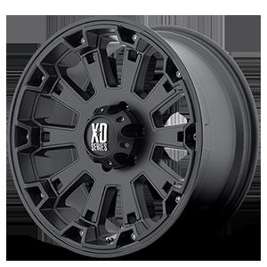 XD Wheels XD800 Misfit 6 Matte Black