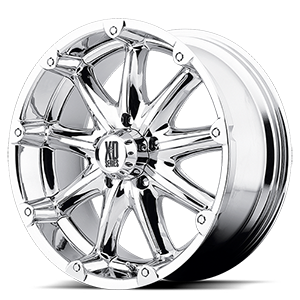 XD Wheels XD779 Badlands 5 Chrome