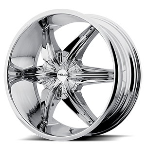 HE866 Chrome 6 lug