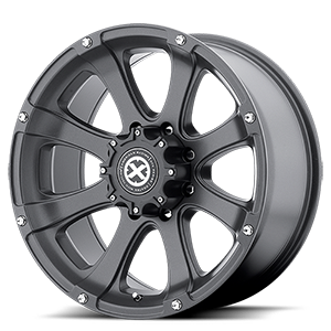 AX188 Ledge Cast Iron Black 8 lug