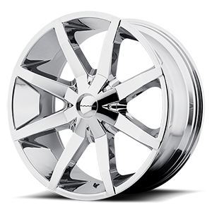 KMC Wheels KM651 Slide 6 Chrome