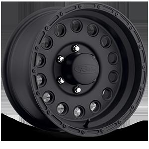 Raceline Wheels 887 Rockcrusher 6 Black