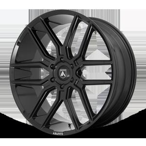 Asanti Black Label ABL-28 Baron 6 Gloss Black