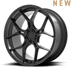 ABL-37 Monarch Satin Black 5 lug