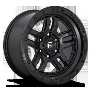 Fuel 1-Piece Wheels Ammo - D700 5 Matte Black