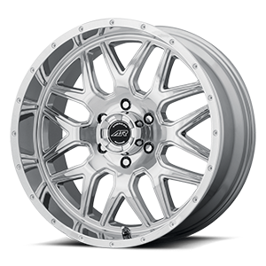 AR910 Chrome 6 lug