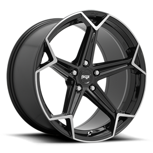 Niche Sport Series Arrow - M259 5 Gloss Black & Brushed