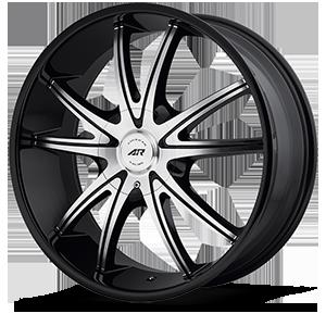 American Racing Custom Wheels AR897 5 Gloss Black Machined
