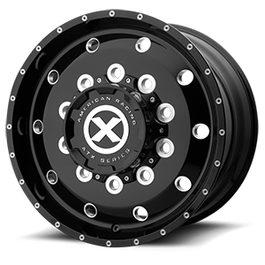 AO400HD Baja - Heavy Duty High Gloss Black Milled - 12.25 10 lug