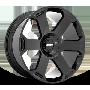 AVS Gloss Black 5 lug