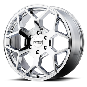 AR916 Chrome 6 lug