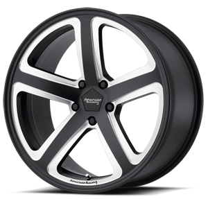 AR922 Hot Lap Satin Black Milled 5 lug