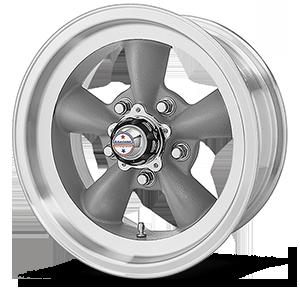 American Racing Custom Wheels VN105D Torq Thrust D 5 Torq Thrust Gray w/ Machined Lip