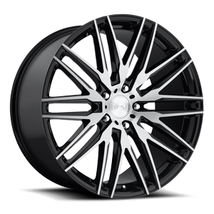 Anzio - M165 Gloss Black & Brushed 22x10.5 5 lug