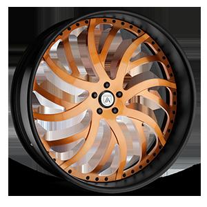 Asanti Forged Wheels A/F Series AF862 5 Orange