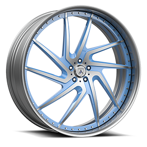 Asanti Forged Wheels FS Series FS09 5 Blue Brushed