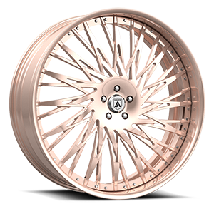 Asanti Forged Wheels FS Series FS14 5 Rose Gold