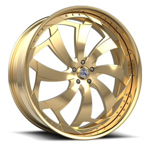 Asanti Forged Wheels FS Series FS16 5 Gold