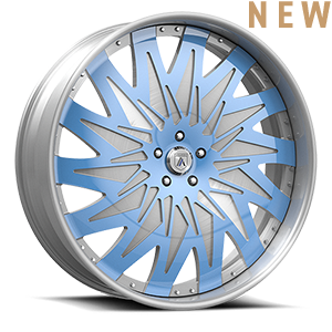 Asanti Forged Wheels FS Series FS26 5 Brushed Blue