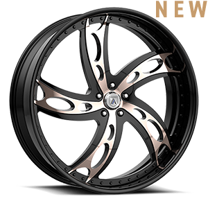 Asanti Forged Wheels FS Series FS27 5 Rose Gold and Black