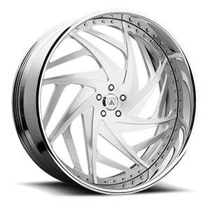 Asanti Forged Wheels A/F Series AF863 5 Brushed