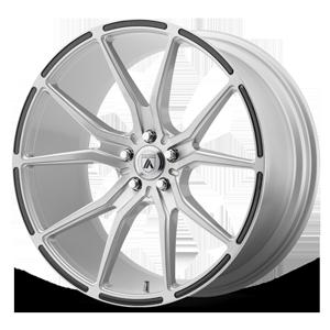 Asanti Black Label ABL-13 Vega 5 Brushed Silver w/ Carbon Fiber Inserts