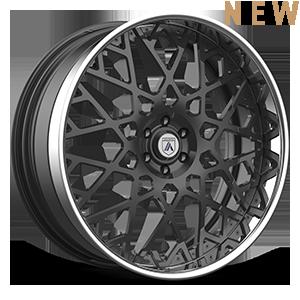 Asanti Forged Wheels A/F Series AF890 6 Gunmetal w/ Chrome Lip