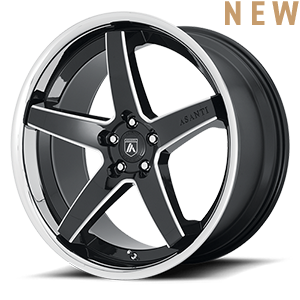 ABL-31 Regal Gloss Black Milled 5 lug