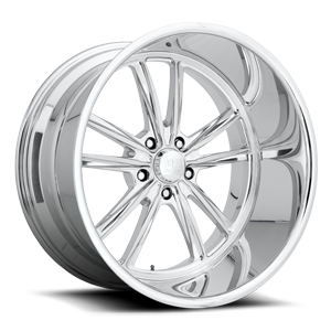 Bastille 5 - Precision Series Brushed w/ Polished Lip 5 lug