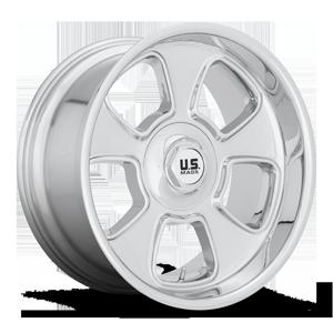 BLVD - U126 Chrome 5 lug