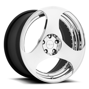 BRU Chrome 5 lug