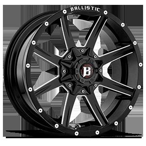 Ballistic Off Road 956 Razorback 5 Gloss Black w/ Milled Windows